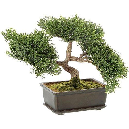 Artificial Cedar Bonsai Tree 9'