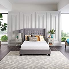 """MEMORY FOAMMATTRESS IN A BOX—All the comfort and trusted quality of a Sealy mattress, delivered right to your door and ready to usewithin 24 hours. LAYERS OF COMFORT—Softerconforming memory foam """"hugs"""" you forpersonalizedcomfort throughout the n..."""