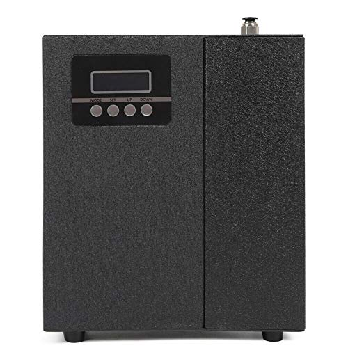 Air Scent Machine Cover 1,100 sq.ft (100 m²) Area with Powerful Smell Outlet,150ml bottle Aroma Essential Oil Diffuser Work for Hotel Office Business Commercial (BLACK)