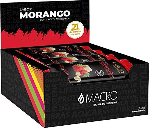 MACROBAR Morango Cx (10un)