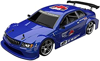 Redcat Racing EP Brushless Touring Car with ALU Shocks, Ball Bearing, 2.4 Radio and BL10315 Body (1/10 Scale), Metallic Blue