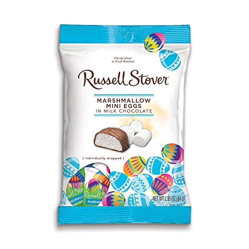 Russell Stover Milk Chocolate Marshmallow Mini Eggs, 2.95 oz. Bag