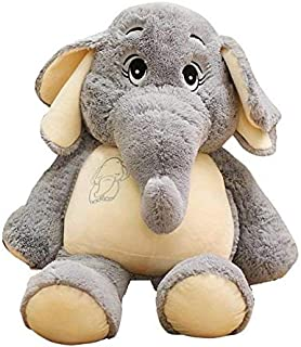 EXTOY I Giant Plush Elephant Toys G ing Back Cushion Ears Long Plush Elephant Animal Toys for Children Must Have Toys 5 Year Old Girl Gifts Toddler Favourite Superhero Cake Topper UNbox Dolls