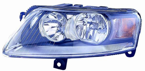 Depo 346-1102L-AS Audi A6 Driver Side Replacement Headlight Assembly