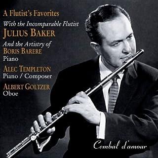 Templeton: A Flutist's Favorites by Julius Baker (2007-10-30)