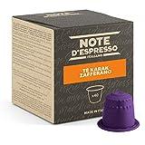Note d'Espresso - Chai Karak Saffron Tea - Cápsulas para las Cafeteras Nespresso - 40 Unidades de 7 g