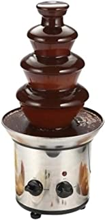 220V Chocolate Fountain 4-layer Chocolate Waterfall Stainless Steel Material Chocolate Melting Machine