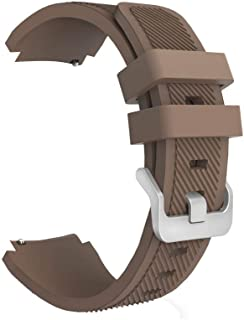 Margoun Active Silicone Watch Band for Samsung Gear S3 Frontier/Classic in Brown