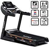 Fitkit FT100S Series (3.25 HP Peak) Motorized Treadmill with Free Dietitian,Personal Trainer, Doctor Consultation and  Installation Services