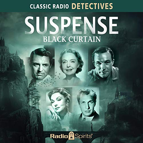 Suspense: Black Curtain audiobook cover art