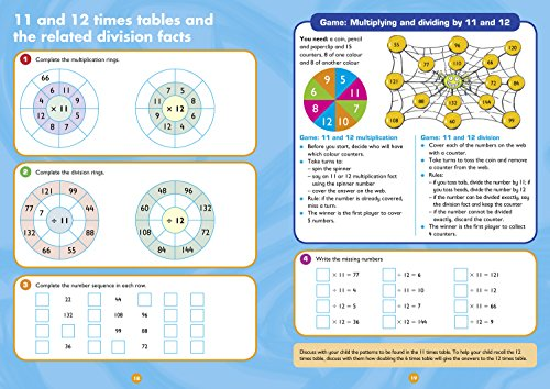 Multiplication and Division Ages 7-9: KS2 Maths Home Learning and School Resources from the Publisher of Revision Practice Guides, Workbooks, and Activities. (Collins Easy Learning KS2)