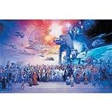 Trends International Star Wars Galaxy Wall Poster 22.375' x 34'