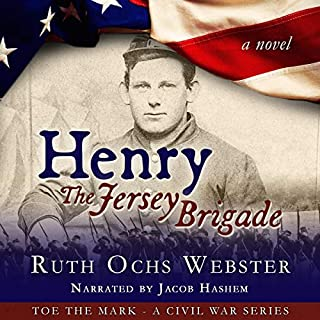 Henry: The Jersey Brigade audiobook cover art