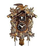 Cuckoo Clock on Wall Living Room Wall Clock Bird Sing Alarm