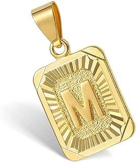 Best m pendant gold Reviews