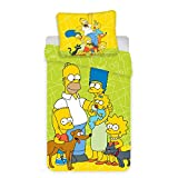 The Simpsons Family Bettwäsche-Set  100   Baumwol