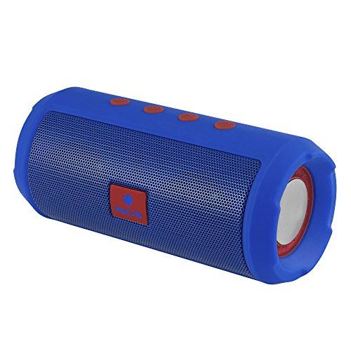 NGS Altavoz Bluetooth Azul Marino Roller Tumbler - Altavoz portátil con USB,...