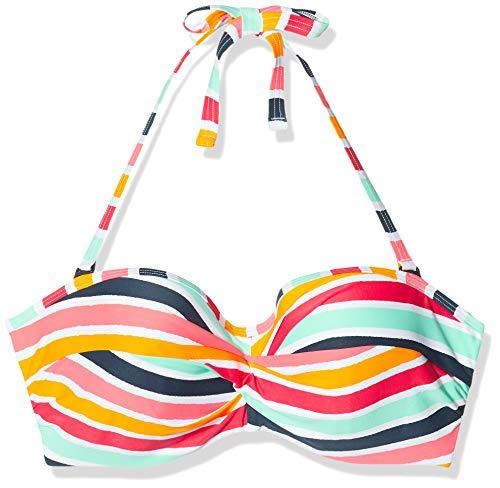 ESPRIT Damen Treasure Beach pad.Band.BC Bikinioberteil, Gelb (Sunflower Yellow 730), 80F(Herstellergröße: 40 F)