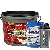 AMIX Predator Protein 4 KG Chocolate + Creatina + Batidor