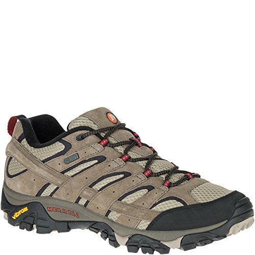 Merrell Men's Moab 2 Waterproof Hiking Shoe, Bark Brown, 12 M US