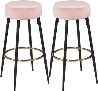 quality design 42d4b af100 Amazon.com: Pink - Barstools / Home Bar Furniture: Home ...