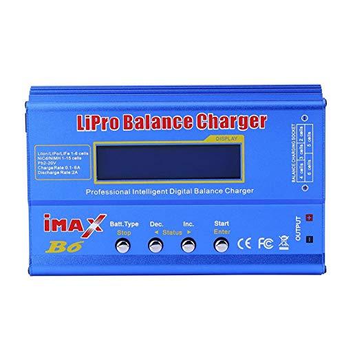 Cargador equilibrado de 3 Tipos RC Cargador equilibrado Digital de batería Lipo...