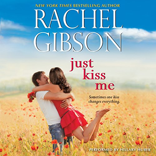 Just Kiss Me audiobook cover art