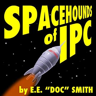 Spacehounds of IPC audiobook cover art