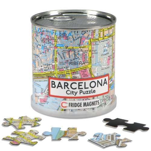 Extragoods City Puzzle Magnets - Barcelona