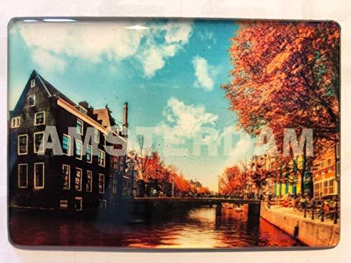 Imán para nevera Amsterdam Souvenir 200901