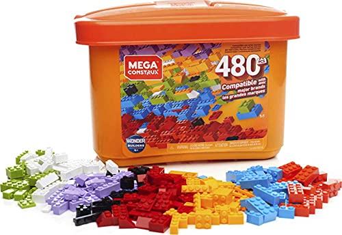 Mega Construx Caja de 480 piezas y bloques