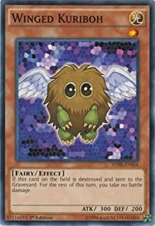 Yu-Gi-Oh!! - Winged Kuriboh (SDHS-EN016) - Structure Deck: Hero Strike - 1st Edition - Common