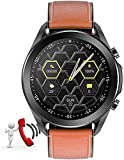 PKLG Reloj inteligente para hombre de 1.3 pulgadas, con monitoreo...