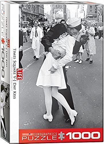 EuroGraphics Kissing on VJ Day LIFE Magazine (1000 Piece) Puzzle by EuroGraphics
