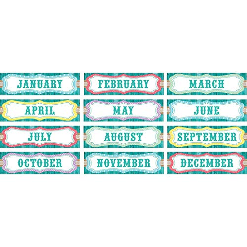 Teacher Created Resources Shabby Chic Monthly Headliners (77193)