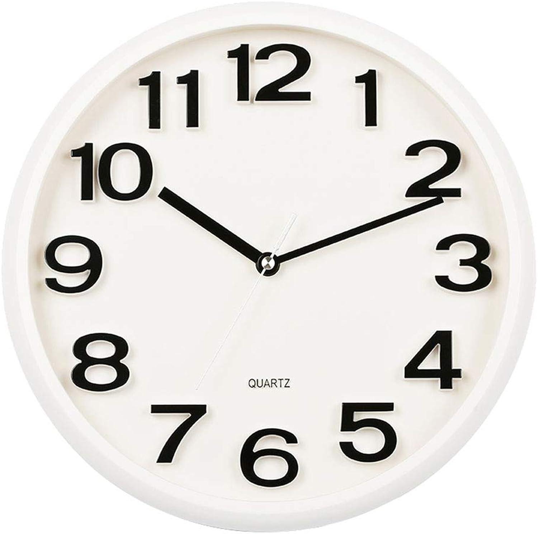 promociones de equipo Interior Reloj De Parojo Decorativo Reloj Reloj Reloj De Parojo 3D Reloj De Parojo De Silencio De Cuarzo - Estilo Moderno Y Minimalista - Sala De Estar Dormitorio Oficina - Pasillo - Regalo Ideal (14 Pulgadas) 0  para proporcionarle una compra en línea agradable