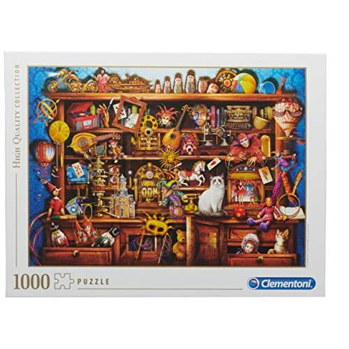 Clementoni - 39512 - High Quality Collection Puzzle - Ye Old Shop - 1000 Pezzi - Made In Italy - Puzzle Adulto