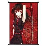 Sweet&rro17 Akame Ga Kill - Cuadro enrollable con diseño de cacemono, anime, póster decorativo para la pared del salón o el dormitorio (20 x 30 cm)