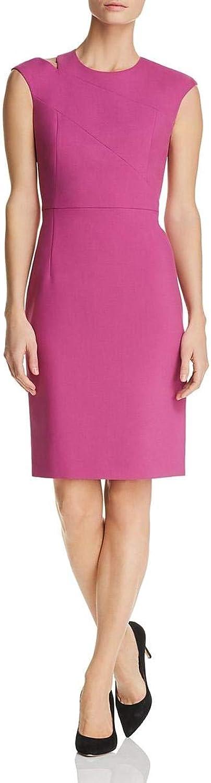 Hugo Boss BOSS Womens Danouk Shoulder Cutout Cap Sleeve Cocktail Dress
