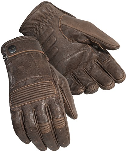 Cortech Men's Duster Leather Motorcycle Gloves (Brown, XXX-Large)