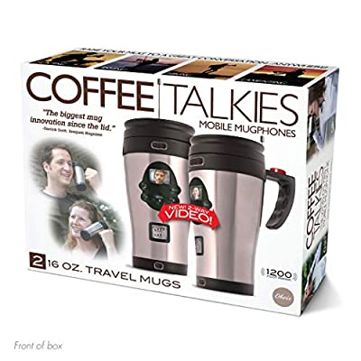 "Prank Pack ""Coffee Talkies"" - Wrap Your Real Gift in a Prank Funny Gag Joke Gift Box - by Prank-O - The Original Prank Gift Box 