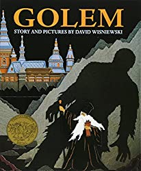 "Cover of David Wisniewski's ""Golem."""