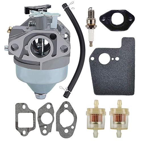 Butom GCV190 16100-Z0Y-013 Carburetor for Honda GCV 190 GCV190A GV190LA GC190 HRB217 HRX217 HRB217HXA HRB217TDA HRX217HMA HRX217HXA HRX217TDA Lawn Mower Replace # 16100-Z0Y-853