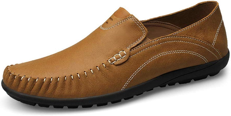 Sam bille herr Loafers Skor Bär Bär Bär -Resistent Slip -on Round Toe Mode Tillfälliga Drivskor  enkel och generös design