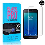 Bear Village® Screen Protector for Galaxy J2 Core 9H Scratch Resistant HD Tempered Glass Screen Protector Film for Samsung Galaxy J2 Core, 1 Pack