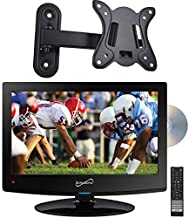 """Supersonic SC-1512 15.6"""" HD LED TV Built-in DVD Player with Wall Mount"""