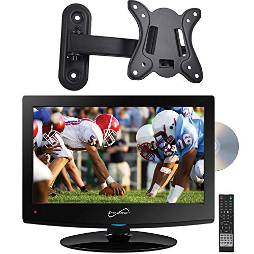 Cheapest Price! Supersonic SC-1512 15.6 HD LED TV Built-in DVD Player with Wall Mount