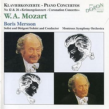 Mozart: Piano Concertos Nos. 26 & 12