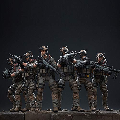 JoyToy Action Figures 4-Inch US Army Navy Seals Team Soldier Figure PVC Military Model Collection Toys