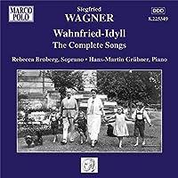 ジークフリート・ワーグナー:歌曲全集